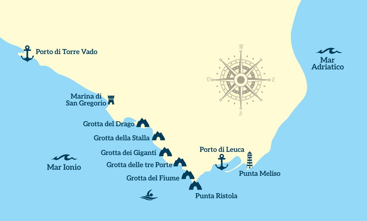 Itinerario escursione 2 ore