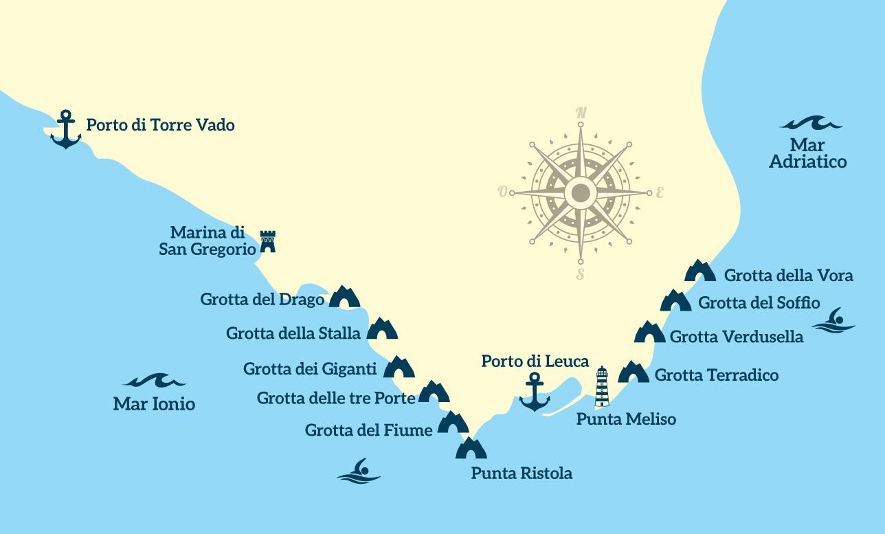Itinerario escursione di 4 ore